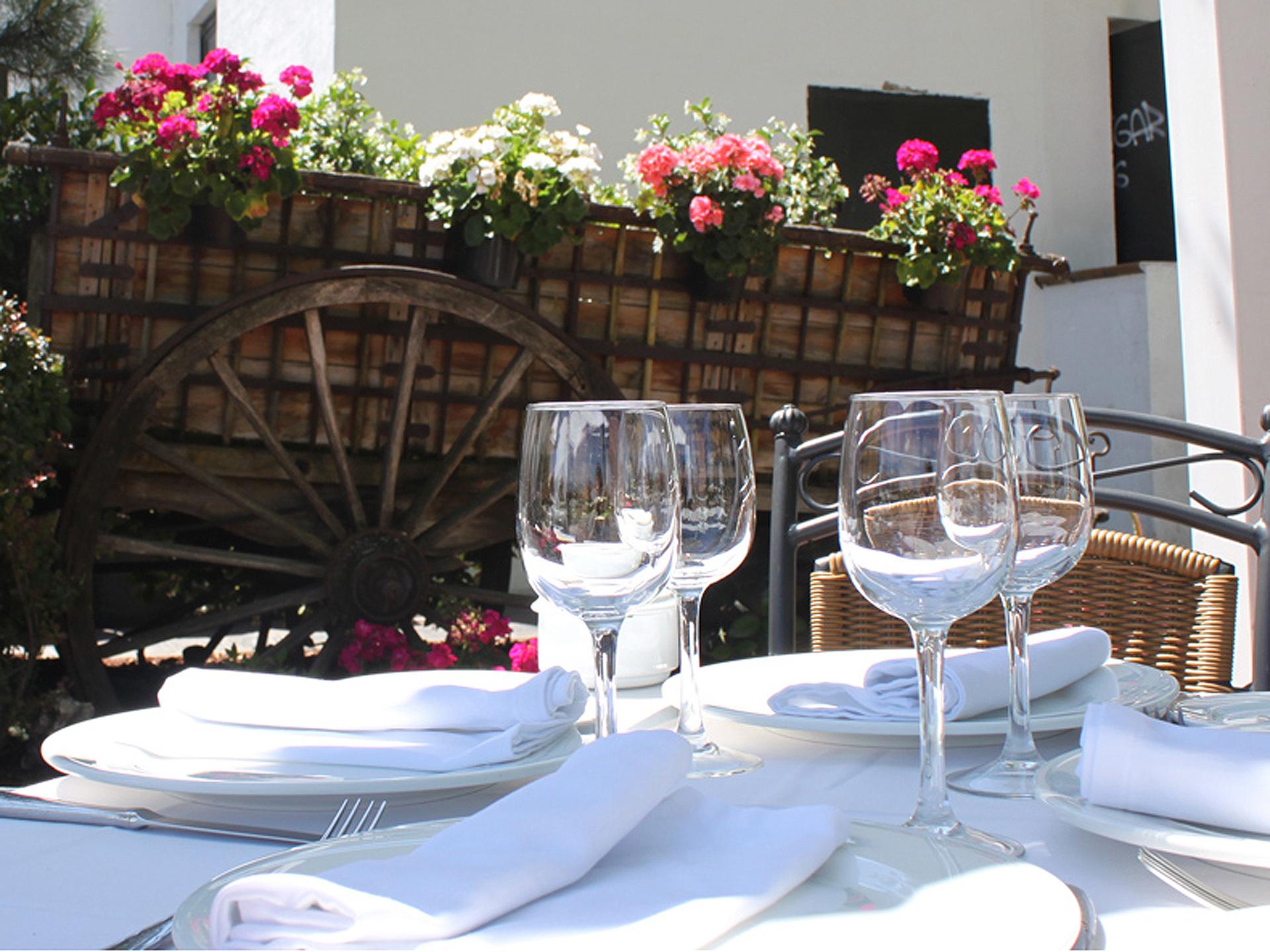 Menús de bodas en Alcorcón Casa Santa Cruz