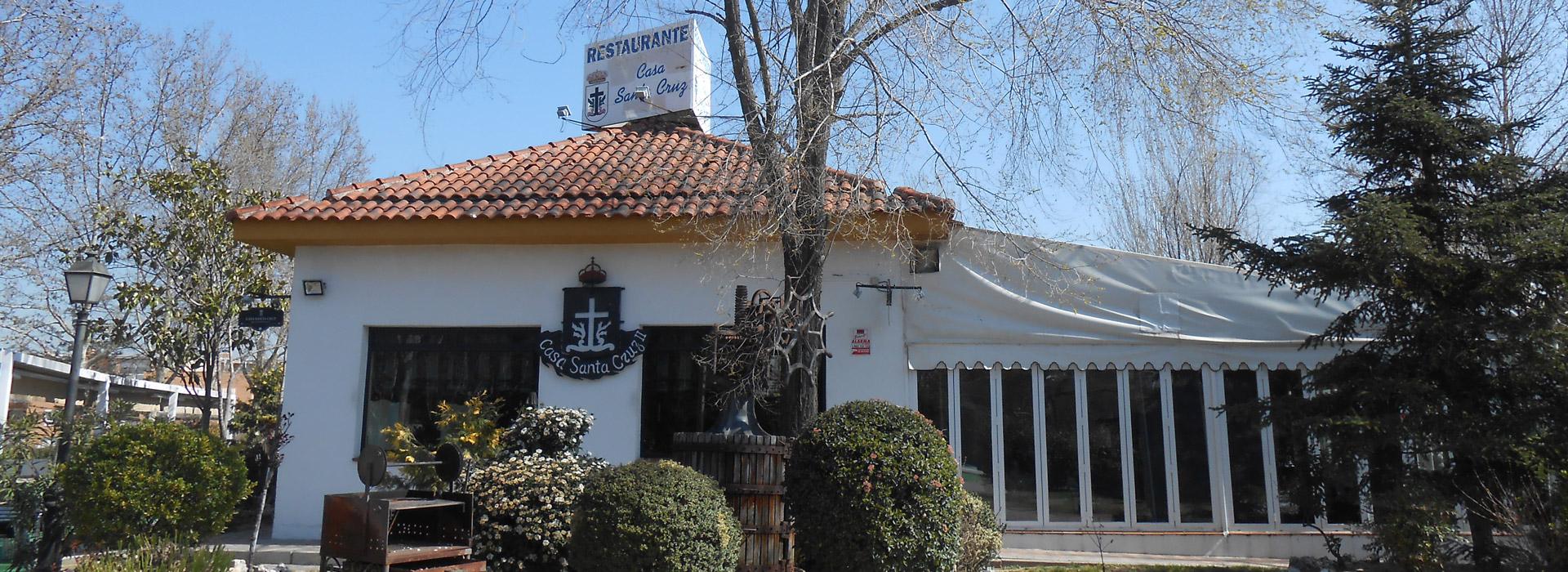 Restaurante en Alcorcón Casa Santa Cruz