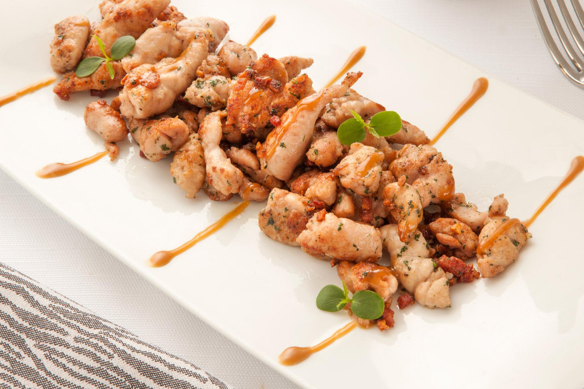 Comer las mejores mollejas en Alcorcón Restaurante Casa Santa Cruz