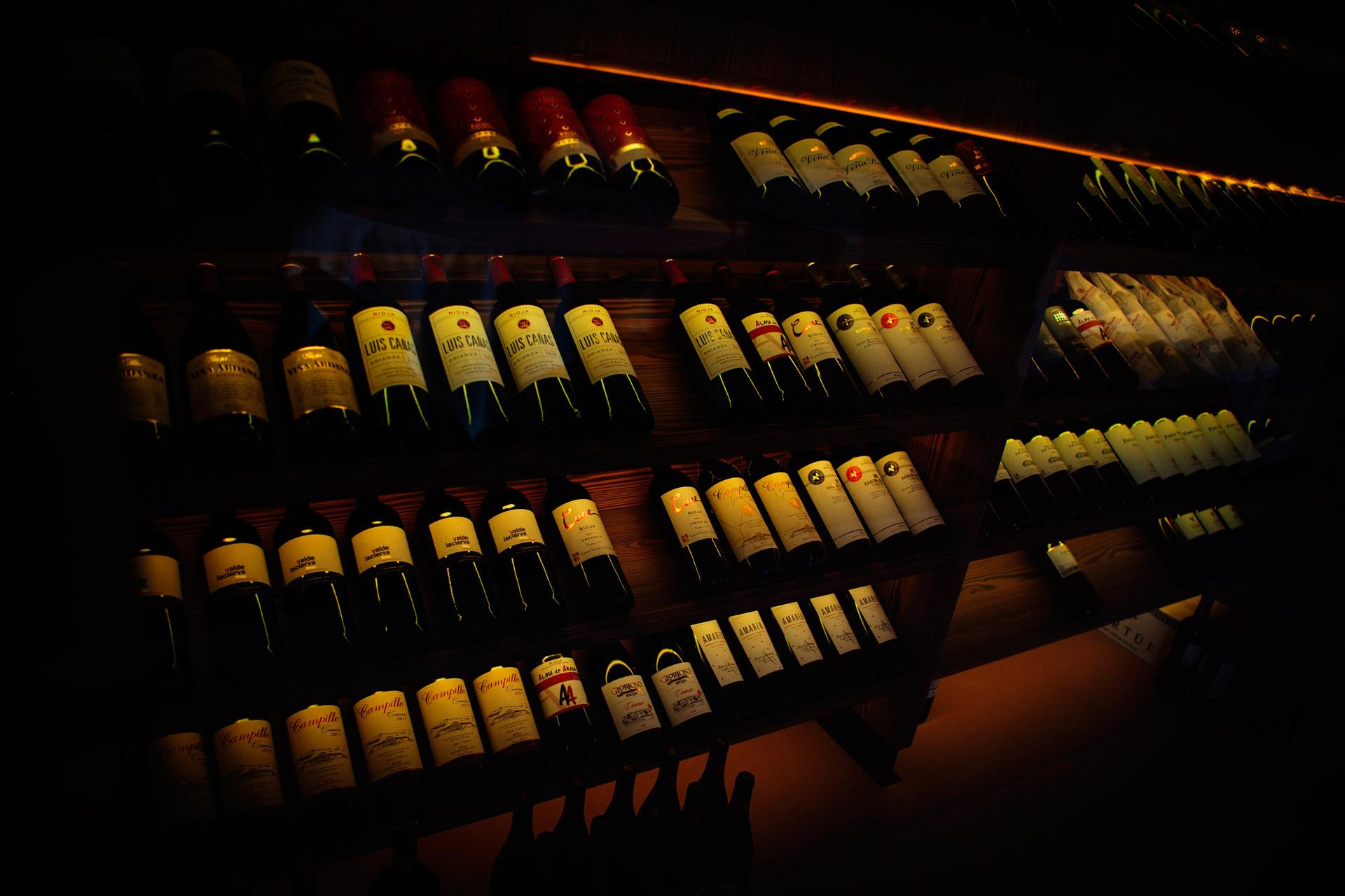 Vinoteca en Alcorcón Restaurante Casa Santa Cruz